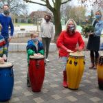 Förderverein der Grundschule Wolbeck-Nord unterstützt Trommelkurse