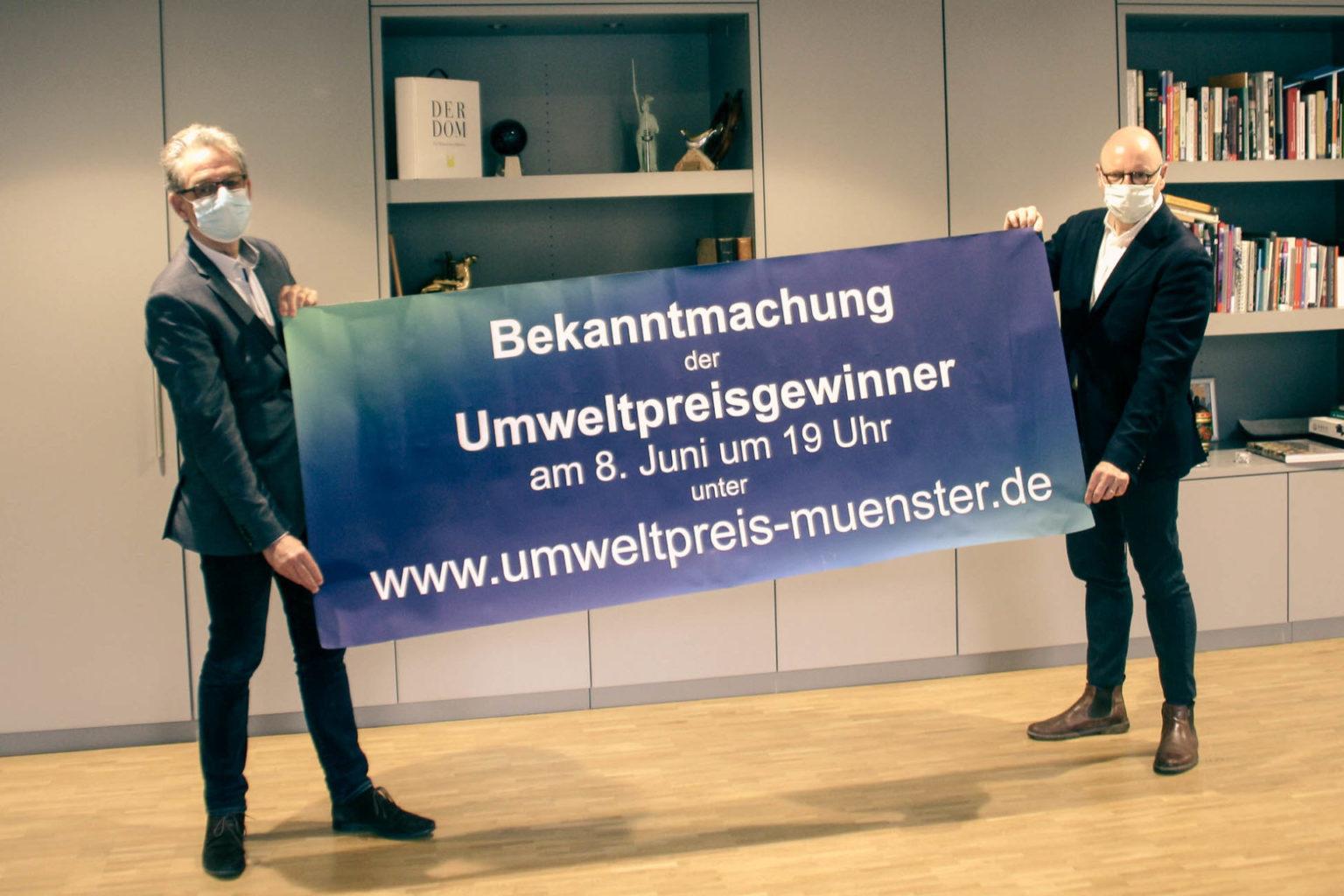 Großes Kino für den Umweltpreis: Stadt Münster gibt Gewinnerinnen und Gewinner bekannt