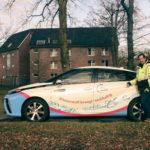 Mit Wasserstoff im Auto zum Arbeitseinsatz in Münster