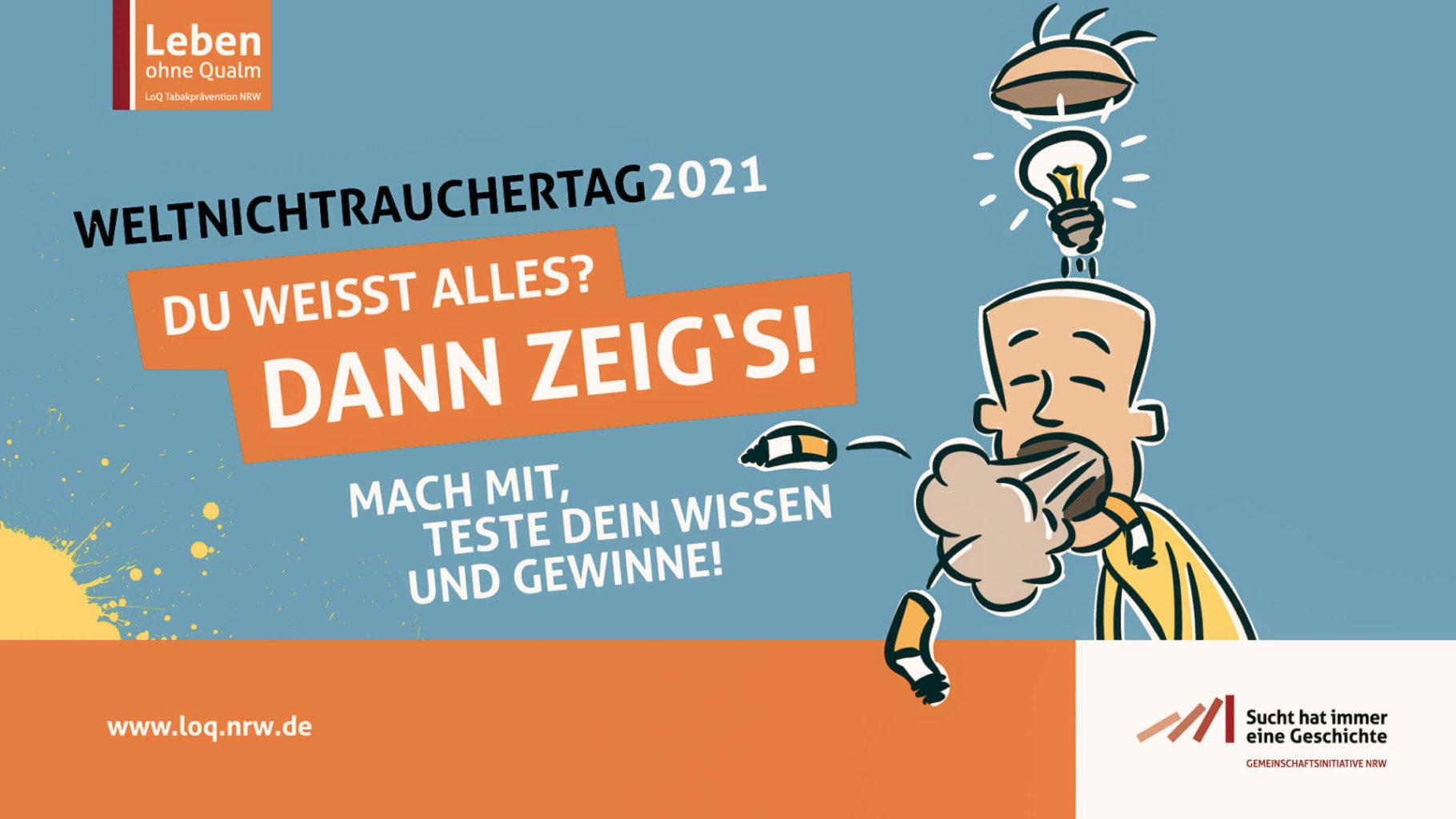 """Weltnichtrauchertag: Initiative """"Leben ohne Qualm"""" digital"""