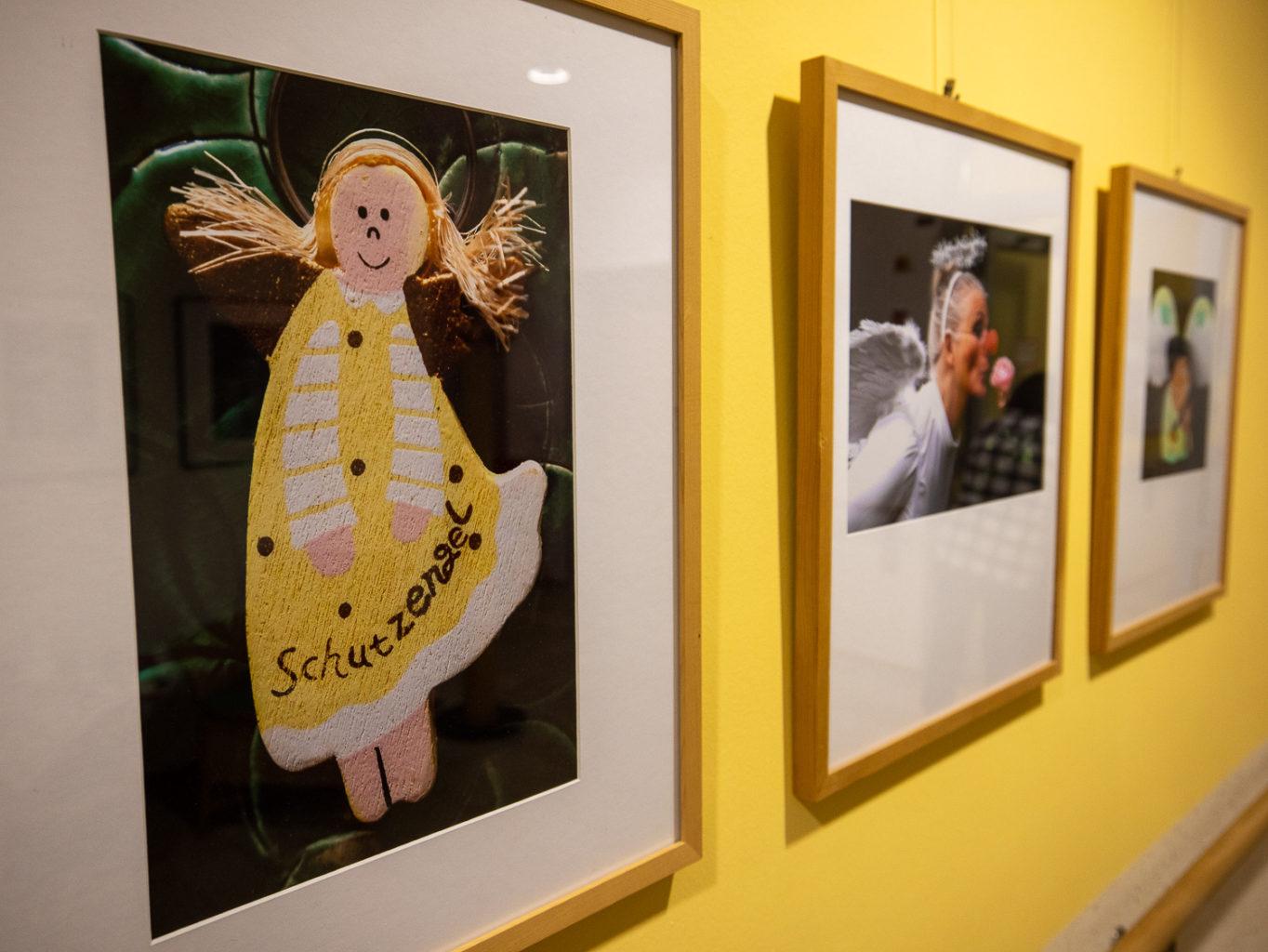 Engel-Ausstellung im Achatiushaus in Wolbeck. Foto: A. Hasenkamp.