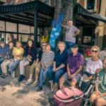 Künstler treffen mit A.K.T.: Im Gespräch an Wolbecker Schaufenstern