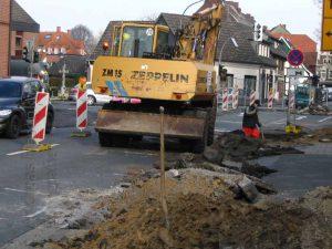 Noch eine Baustelle in Wolbeck? 1
