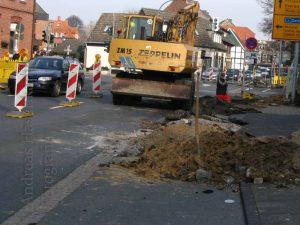 Noch eine Baustelle in Wolbeck? 2