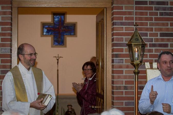 Erster Gottesdienst in der Antonius-Kapelle in Wolbeck 2