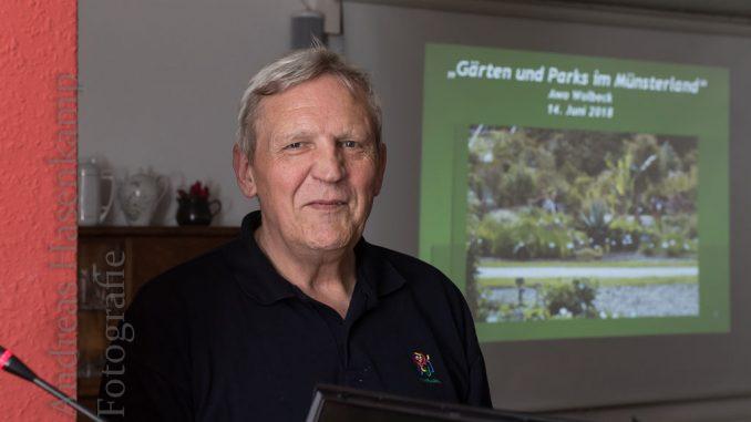 Hans-Peter Boer bei der AWO in Wolbeck. Foto: A. Hasenkamp.