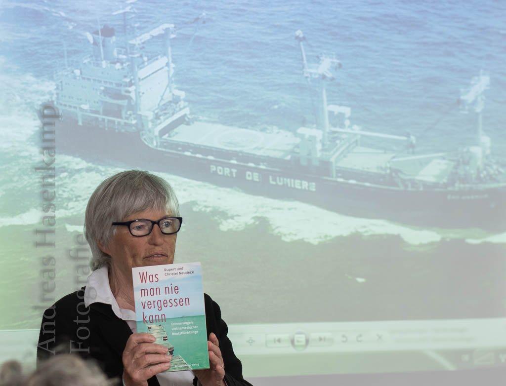 Flüchtlinge und Integration: Christel Neudeck berichtet von Erfahrungen seit 1979 Vortrag im AWO-Treff in Wolbeck