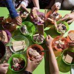 Sommerliches Programm: Eis und Wasser im Sommerferien-Programm des BauSpielTreffs Holtrode
