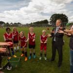 Drittes Fußball-Camp beim VfL Wolbeck - Zuwachs auch 2015