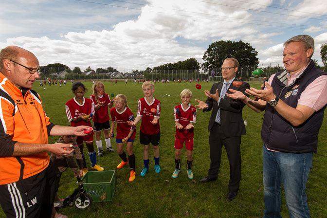 Drittes Fußball-Camp beim VfL Wolbeck - Zuwachs auch 2015 2