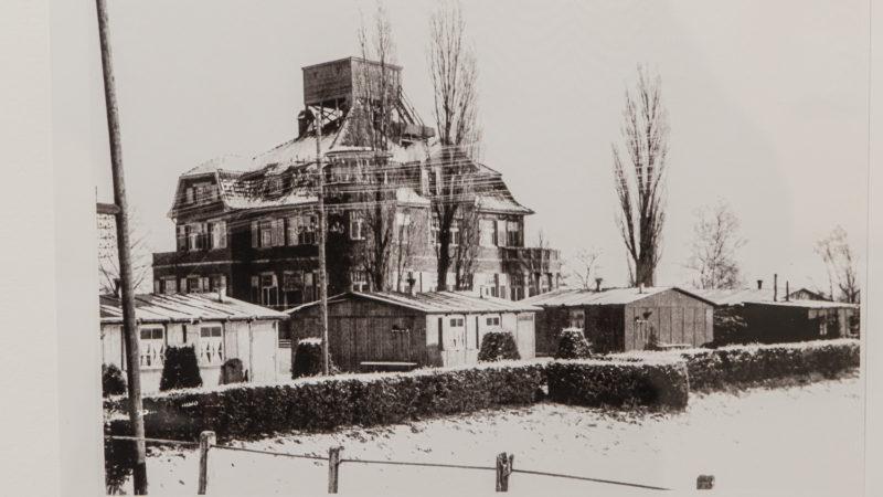 Mit Militär auf dem Dach und im Garten: Die Gartenbauschule Wolbeck.