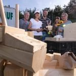 Ziegenüberall naht: 55 Ziegen-Bausätze bei Kreativen in Wolbeck unterwegs
