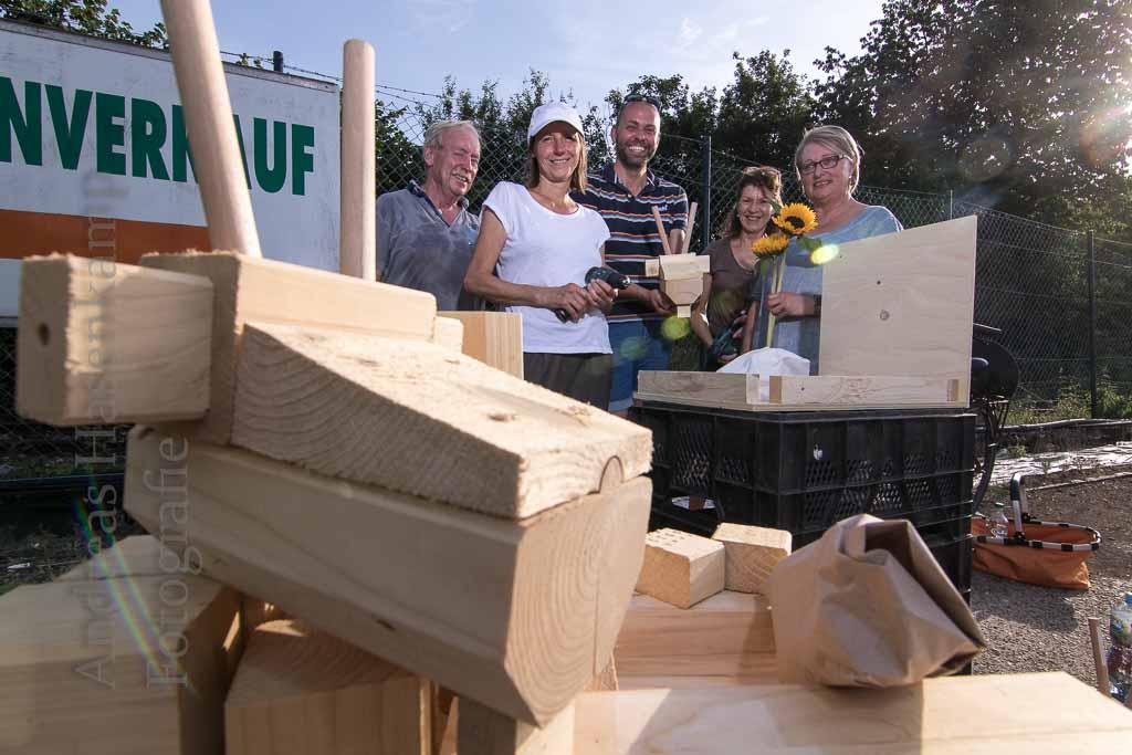 Ziegenüberall naht: 55 Ziegen-Bausätze bei Kreativen in Wolbeck unterwegs 2