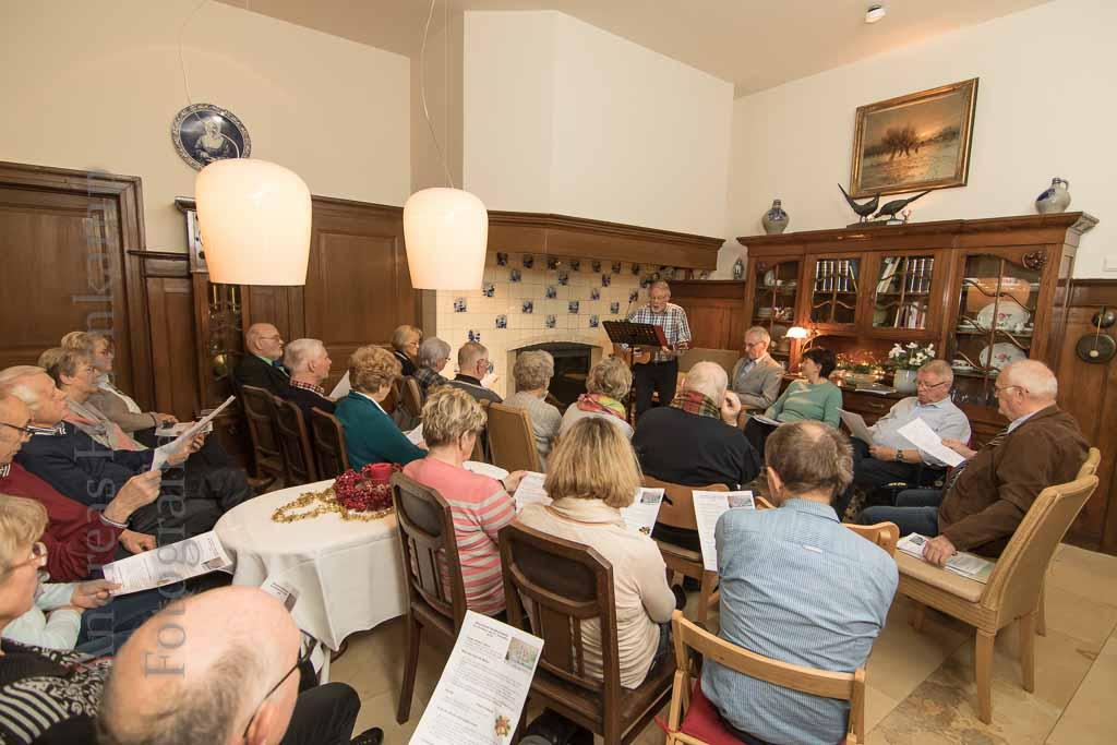 Zu Gast in Haus Reithaus Heimatverein Wolbeck gestaltet adventlichen Herdfeuer-Abend