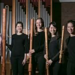 Quartett Bux begeistert mit Flöten-Quartett