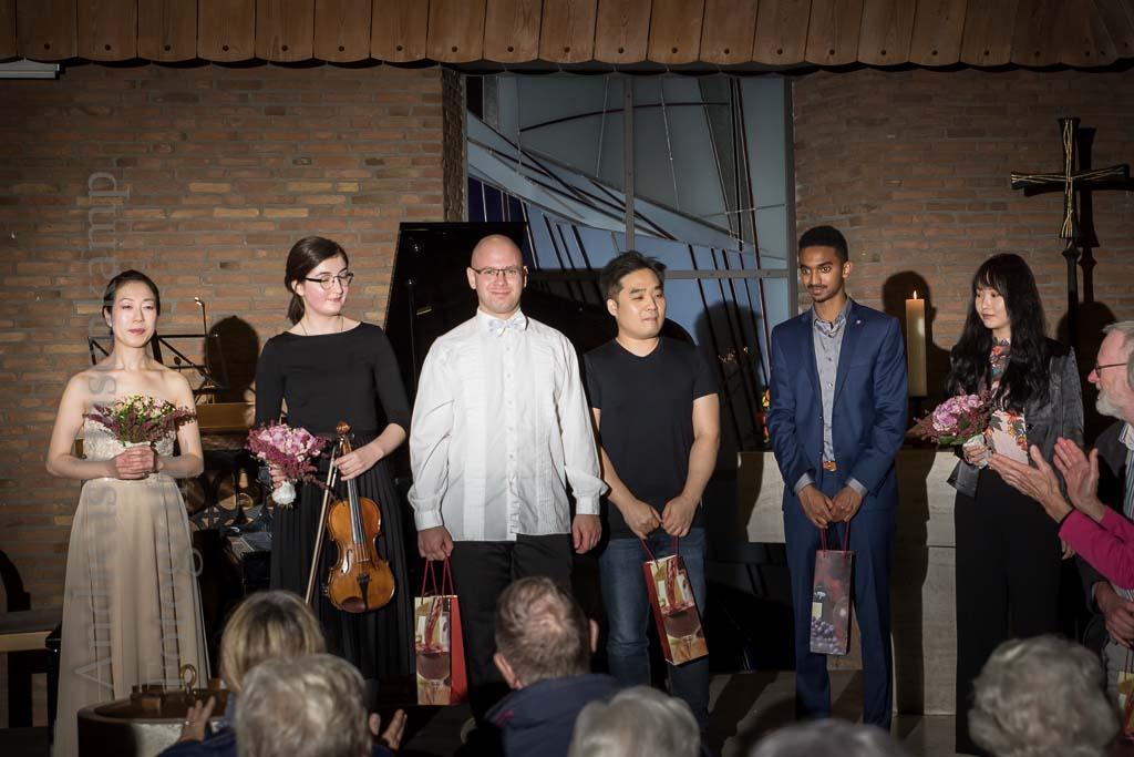 Gefühl und Präzision im Konzert mit Studierenden der Musikhochschule Münster