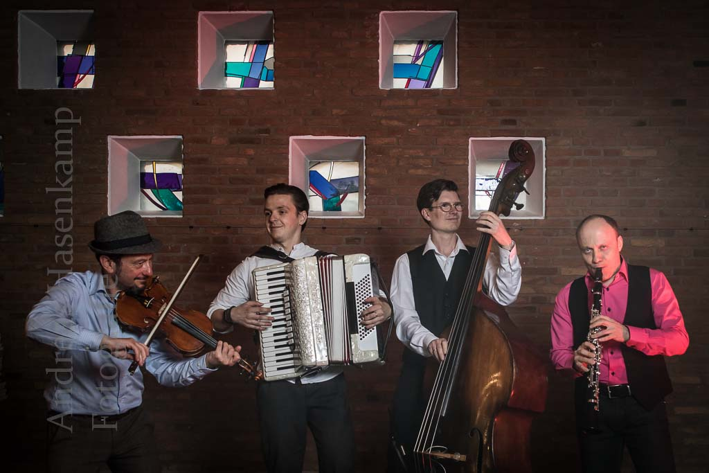 Klezmer reißt mit The Klezmer Tunes entzücken das Publikum in Wolbeck