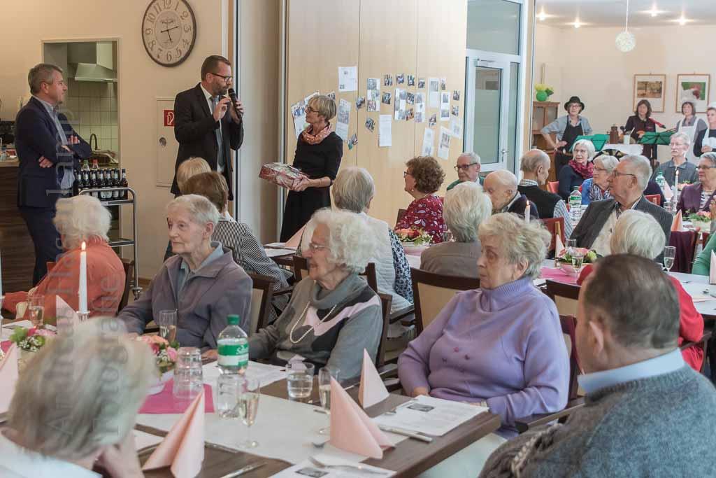 Alexianer danken Wolbecker Mittagstreff im Achatius-Haus