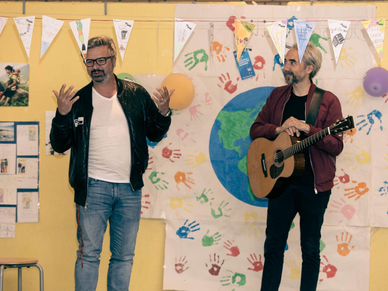 Henning Wehland und Jan Löchel