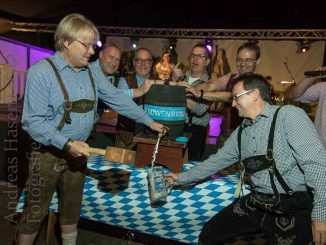 Anstich beim Oktoberfest in Wolbeck 2019.