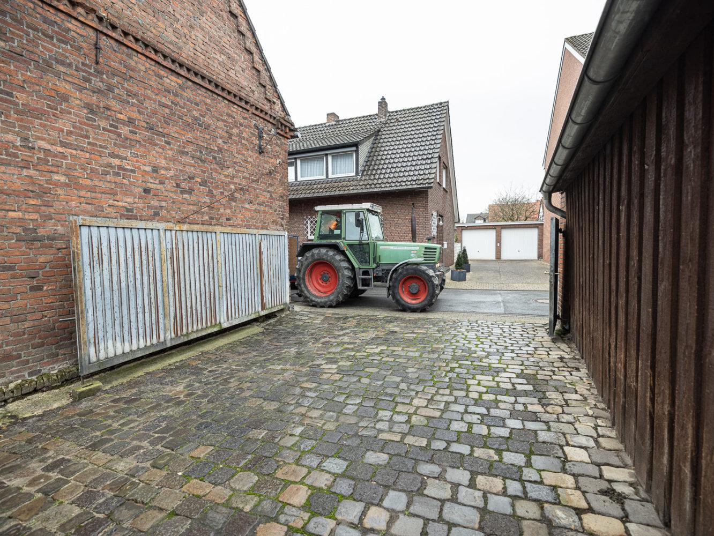 Enge in der Wallstraße und auf dem Hof von Möllers'.