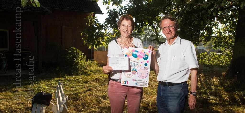 Zweites Sommerfest um Flüchtlingsunterkunft Hof Buddenbäumer