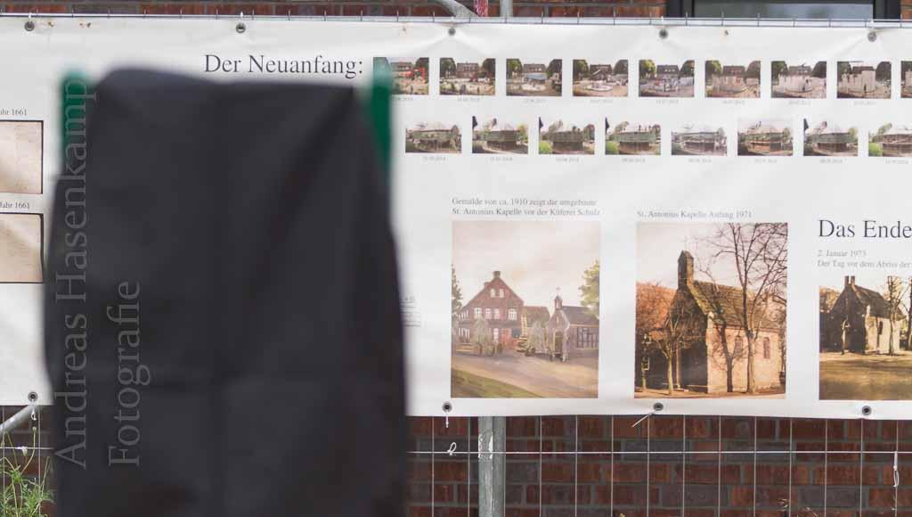 """Informationsschild erweitert """"Wolbecker Spaziergang"""" Schild des Heimatvereins neben Antonius-Kapelle enthüllt"""