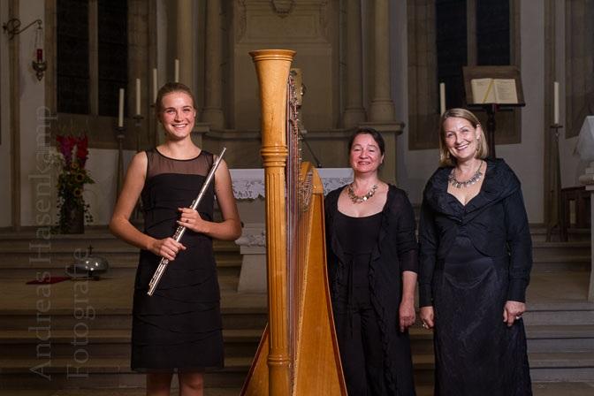 Debussy-Trio brilliert auch mit Fauré und Mendelssohn in St. Nikolaus 1