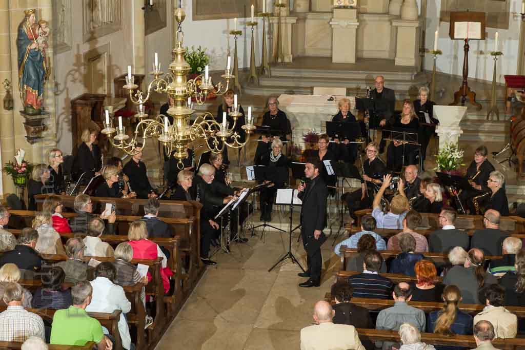 Holzbläser-Orchester reist durch St. Nikolaus Wolbeck 5