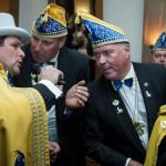 Hippenmajor Frank I. Krause eingekleidet - Elli I. scheidet mit Tränen und Freude