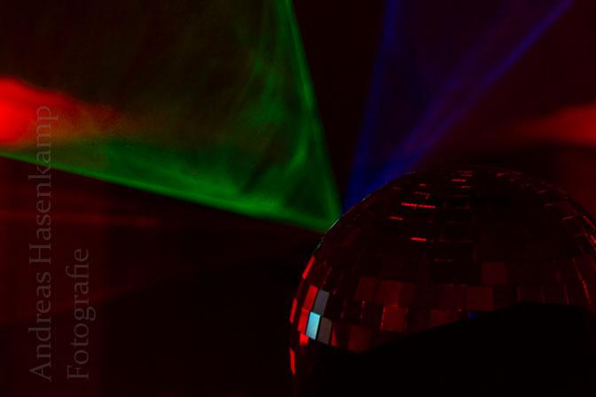 Laser-Effekte in der Christuskirche Wolbeck. Foto: A. Hasenkamp, Fotograf in Münster.