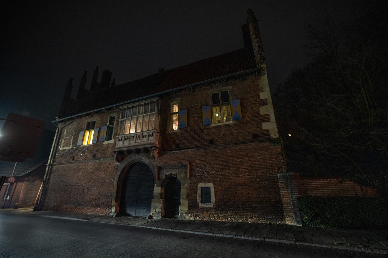 Ist Schmuck genug - der Drostenhof  in Wolbeck. Foto: A. Hasenkamp.