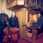 Sopran und Cello in der musikalischen Andacht in St. Nikolaus