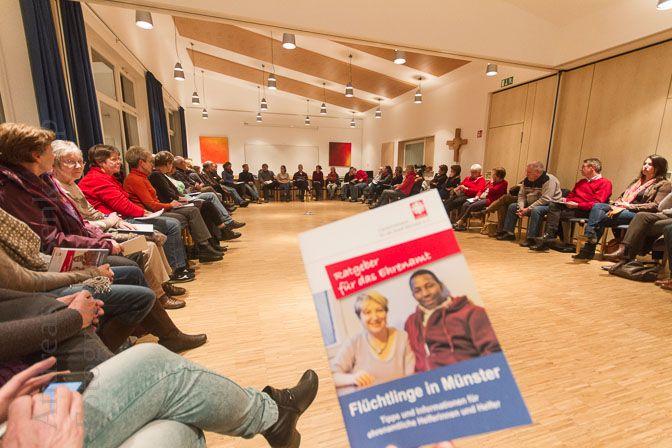 Flüchtlingshilfe SüdOst in Münster weiter mit Zulauf an Helfern Bedarf bei Kleinkind-Betreuung - zugunstern von Müttern
