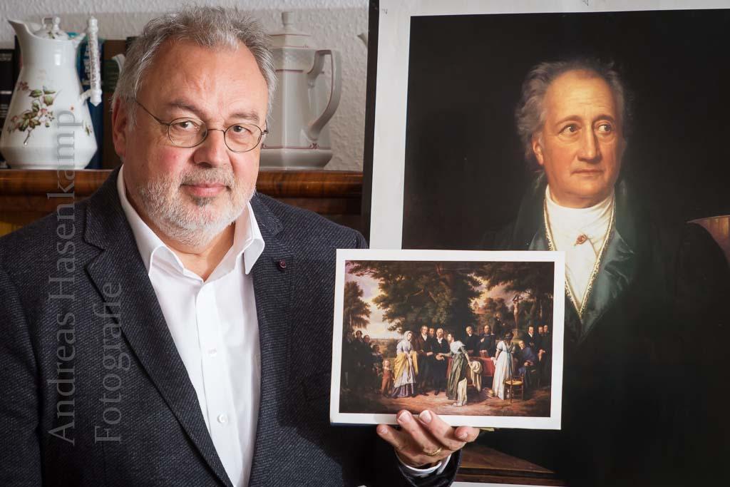 Goethe kam nicht nach Angelmodde Aber zu einer Angelmodderin