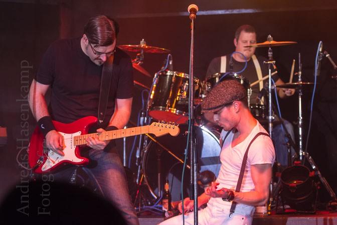 Bands rocken im Bahnhof Wolbeck: Lost Again, Sonar, Jon Sun 1