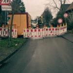 Sperrung in der Franzvon-Waldeck-Stra0e in Münster-Wolbeck. Foto: Stadt Münster