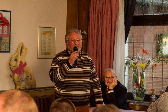 Jahresversammlung der St. Achatius-Nikolai-Bruderschaft Wolbeck in der Gaststätte Sültemeyer an der Münsterstraße. Foto: A. Hasenkamp, Fotograf in Münster.