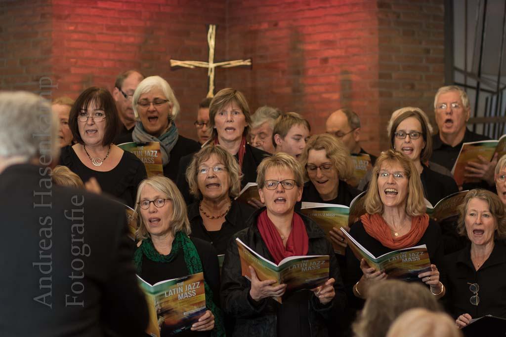 Latin Jazz Mass mit dem Chor der Friedenskirche Aufführung in Wolbecker Christuskirche begeistert