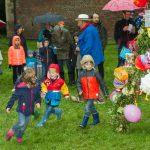 Lambertussingen: Fröhlicher Reigen im Regen 5
