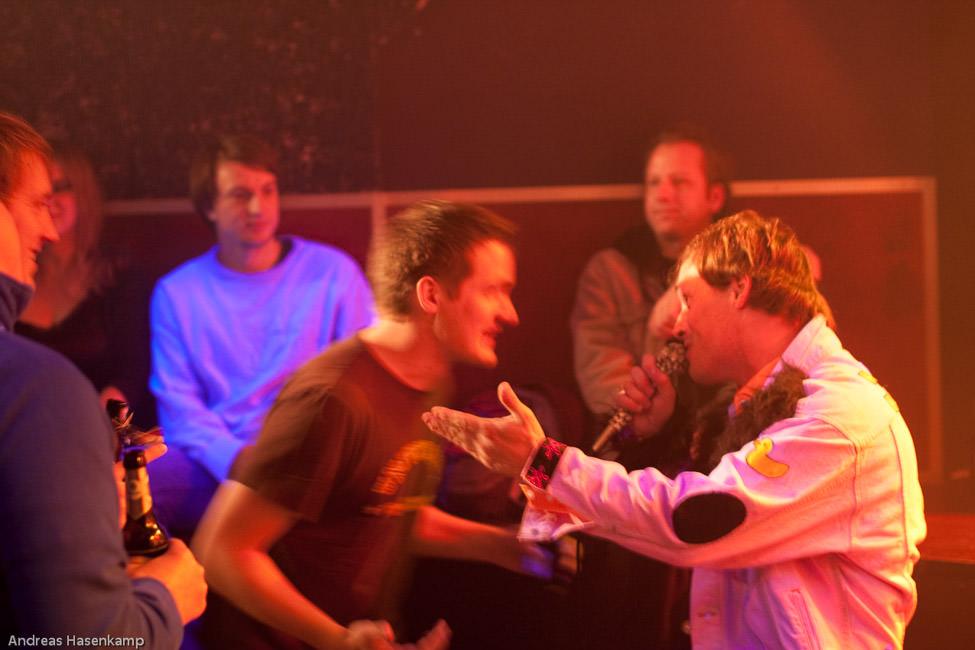 Die Hotten Hempels feiern 25. Geburtstag taufrisch mit Konzert im Bahnhof Wolbeck Hotte Hempels feiern Spaß-Punk