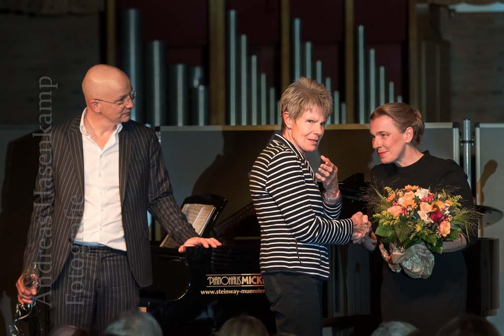 Tina Teubner und Ben Süverkrüp bieten musikalisches Kabarett KulturVorOrt Wolbeck erfüllt sich Wunsch