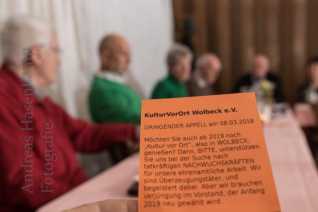 """Verein für """"Kultur vor Ort"""" sucht Nachwuchskräfte KulturVorOrt Wolbeck ansonsten gut aufgestellt"""