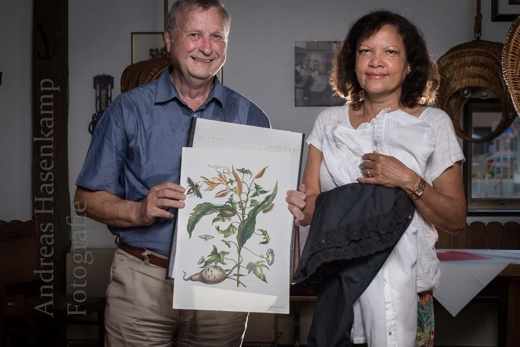Von Frankfurt nach Surinam: Außenseiterin erkundet Insekten Maria Sibylla Merian in Vortrag vorgestellt in Vortrag über Surinam