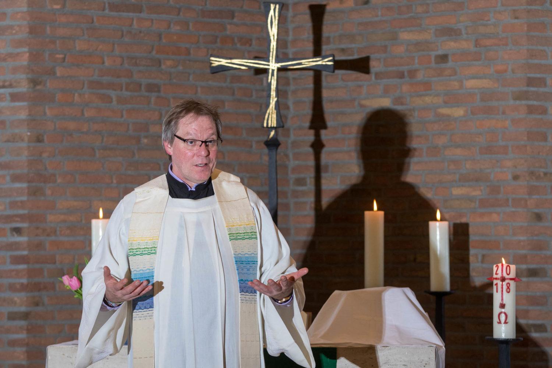 Thomas Schulz in der Christuskirche.