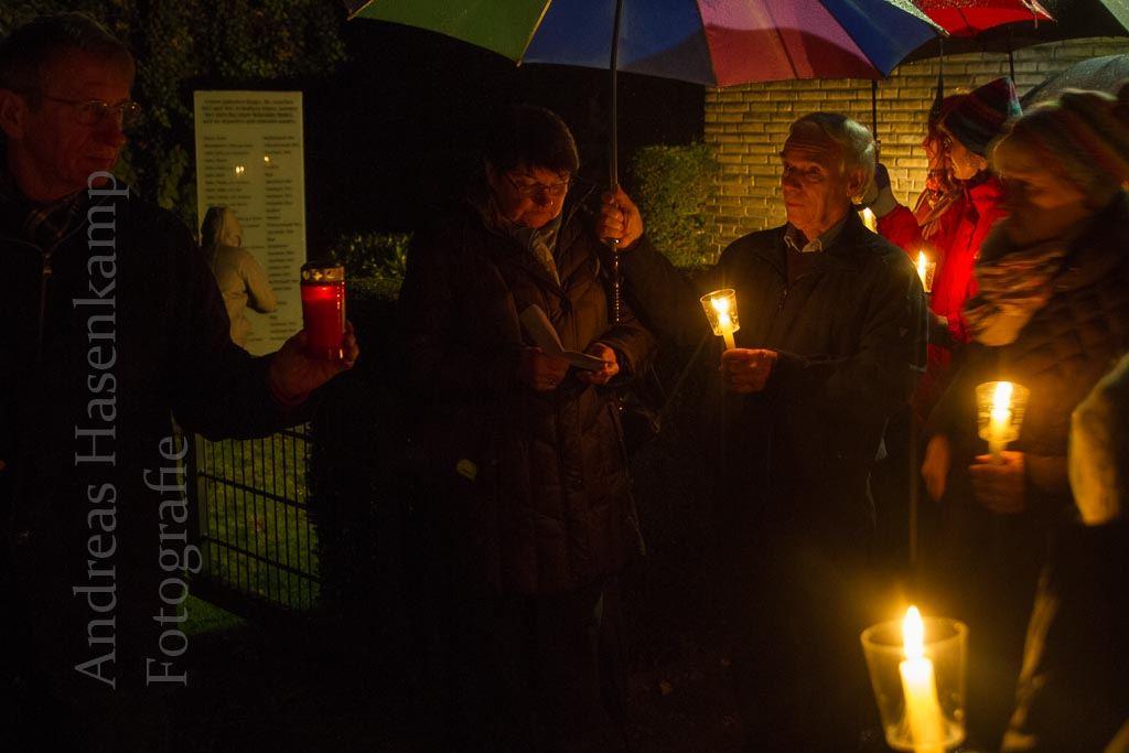 Dokumente zur Pogrom-Nacht in Wolbeck vorgelesen 2