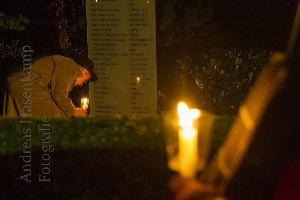 Dokumente zur Pogrom-Nacht in Wolbeck vorgelesen 3