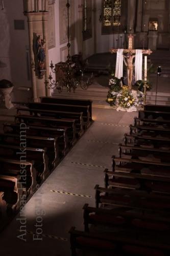 Gottesdienste in St. Nikolaus in Wolbeck ab dem 2. Mai - mit Beschränkungen 1