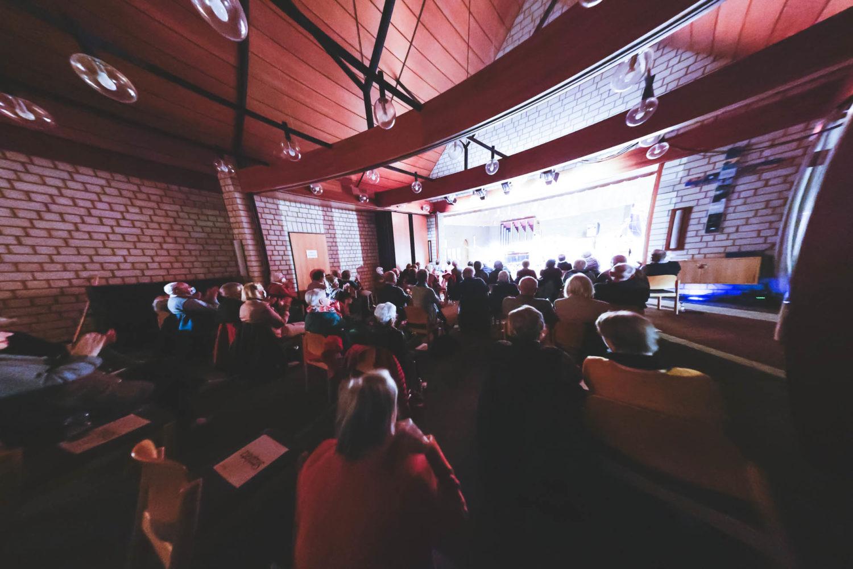 Gut gefüllter Saal der Christuskirche beim Konzert. Foto: A. Hasenkamp