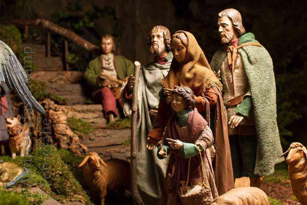 Die Wandelkrippe in St. Nikolaus, Wolbeck - Fotos 2